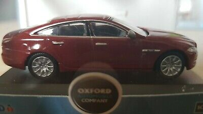 OXFORD DIECAST 76XJ001 1:76 OO SCALE  Jaguar XJ Saloon Stratus Grey