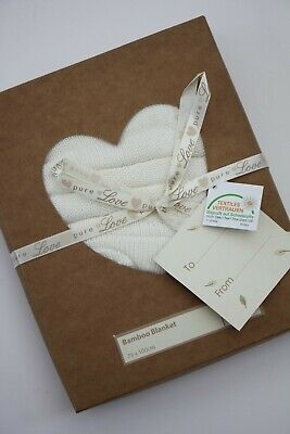 Natures Purest Pure Love Velour Blanket 9156