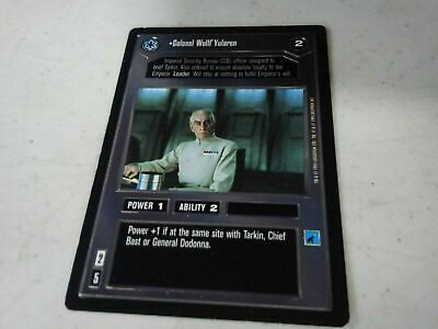 Star Wars TCG ROTJ Common and Uncommon Set