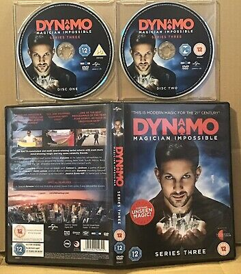 Dynamo: Magician Impossible, Series 3 DVD