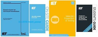 BS7671 & OSG & GN3 & FREE Student Guide 4 books NEW OFFER On Site Guide