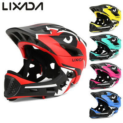 Lixada Kid Bike Full Face Helmet Youth Child Motorcycle Bicycle Sport Safety Hat