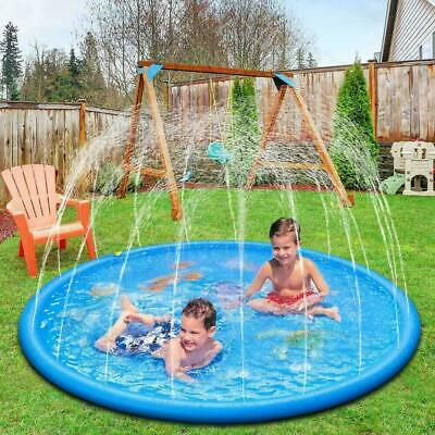 170CM Sprinkler Pad Splash Kinderpool PLANSCHBECKEN Water Swimming Pool GIFT uk