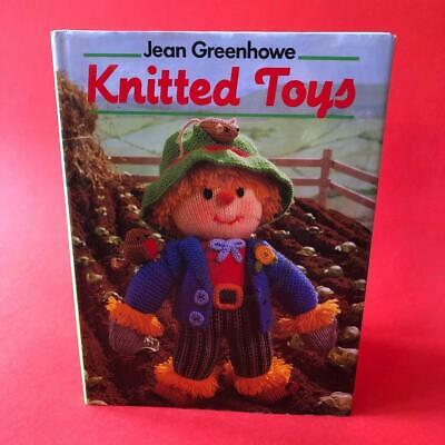 Vintage Jean Greenhowe Knitted Toys Knitting Pattern Hadback Book 1980s