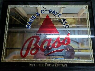 hi Bass /& Co Pale Ale embossed steel sign 300mm x 200mm