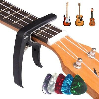 Guitar Capo Clamp for Classical Electric Acoustic Ukulele Quick Trigger Release