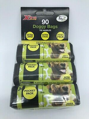Dog Poo Bags Extra Strong Extra Long Dog Poo Bags Tidyz B0240 Pocket Packs