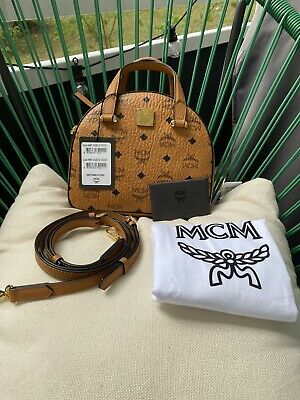 MCM SHOPPER BAG Medium Tasche Handtasche Henkeltasche