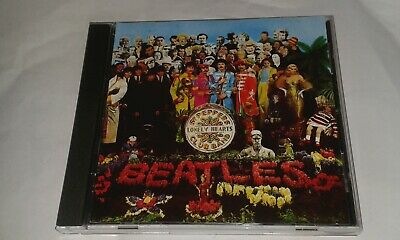 beatles sgt. pepper's lonely hearts club band cd