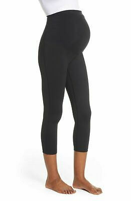 NEW  Zella Live In Maternity Crop Leggings in Black Size XS OR  Large