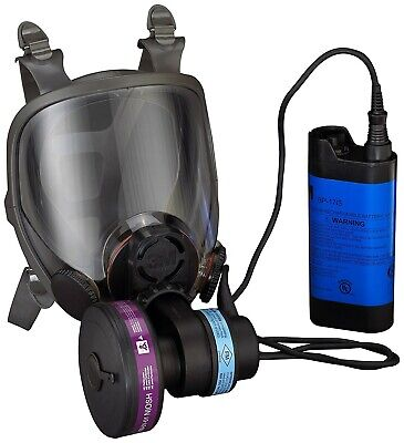 3M 6900PF Powerflow Face-Mounted Powered Air Purifying Respirator (PAPR) LARGE