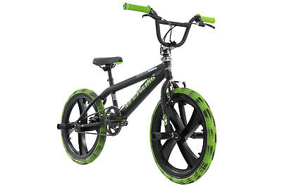 BMX FREESTYLE 20'' Crusher schwarz Kinderrad 360 Rotor 4