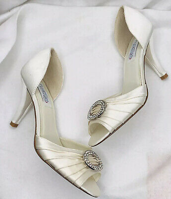 Ivory Wedding Shoes Size 10 For Sale Picclick