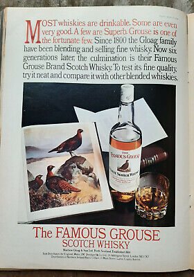 The Famous Grouse Blended Scotch Whisky Etched Whisky Tumbler BNIB Gift Spirits