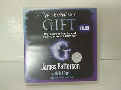 Audiobook CD Jame Patterson Elijah Wood Spencer Locke - Witch & Wizard: The Gift