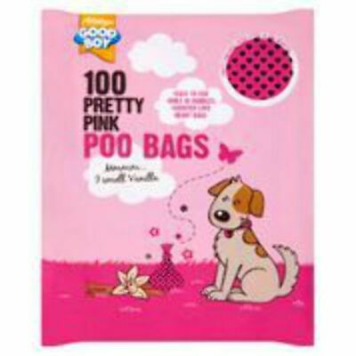 Good Boy Pink Poo Bags 100