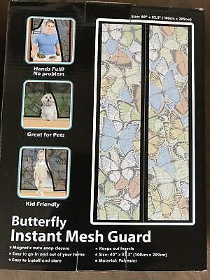 Total Vision Instant Mesh Guard 40-Inch 85.5 Inch Butterfly