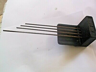 4 FORK CHIMES  FROM AN OLD  MANTLE CLOCK  ref pa 4