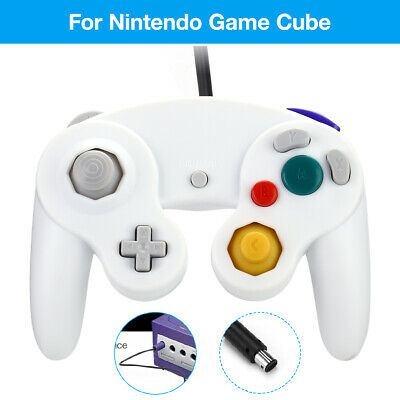 Wired NGC Controller Gamepad For Nintendo GameCube GC & Wii U Console White