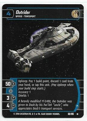 A Star Wars TCG R/&S 4x Outrider
