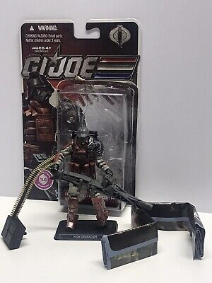 GI JOE 30TH ANNIVERSARY IRON GRENADIER V8 100/% COMPLETE NO FC LOT 61