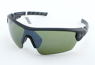 NEW Under Armour Rival Shiny Black Grey Multiflection 8600090 000101 Sunglasses