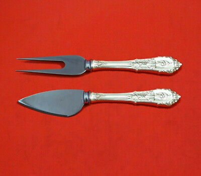 Rose Point by Wallace Sterling Silver Hard Cheese Serving Set 2-Piece Custom