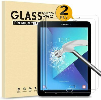 2 Pack Tempered Glass Screen Protector For Samsung Galaxy Tab S2 9.7 T810 T815