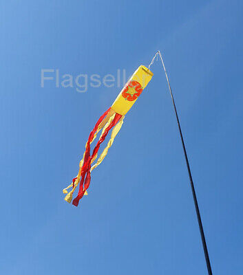 Flagseller UK Streamer flag 4m white High Quality