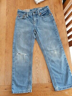 Really Cute Little Boys Ralph Lauren Polo Distressed Jeans Age 5