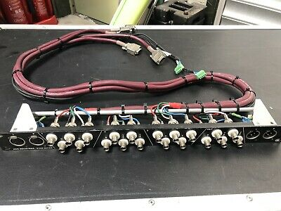 Video Patch Panel - BNC - Audio Patch Panel - 1U Rack Panel