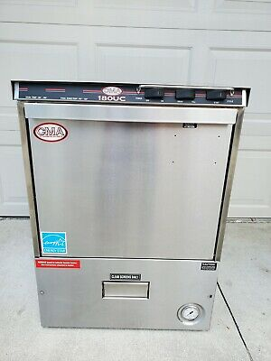 Cma-180Uc Commercial Undercounter Dishwasher With Chemical Dispenser
