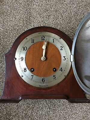 Garrard chiming clock missing pendulum works when moved by hand near Norwich