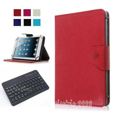 """For Samsung Galaxy Tab 8"""" -Inch Tablet Folios Case Cover Stand with Keyboard US"""