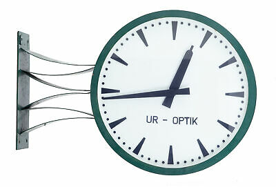 Mid 20Th Century Westerstrands Swedish Industrial Station Clock