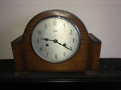 Vintage Smith's Enfield Chime Mantle Clock All Working