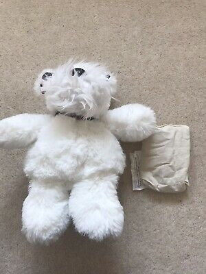 Scottie Dog Plush With Microwaveable Heat Pack