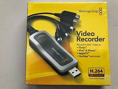 Blackmagic Design Video Recorder USB – H264 Encoding
