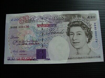 £20 Bank Of England Lowther 1999 note UNC
