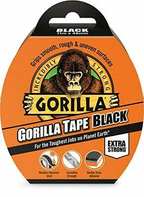 Gorilla Tape Black 48mm x 11m Extra Strong Grip Waterproof Durable All Weather