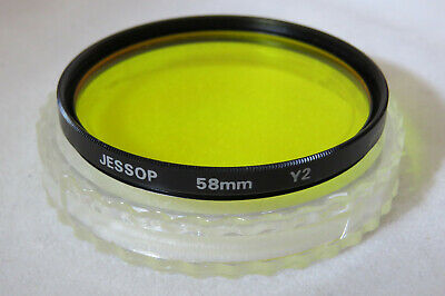58mm Jessop Y2 Yellow Filter - Great Quality Filter + Free UK Post