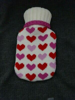 Water Bottle Small Baby Child with Heart Cover VGC used once
