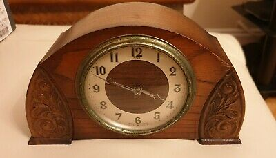 Enfield Mantle Clock. Case Manufactured By C.W.S Ltd. Beautiful And Vintage.
