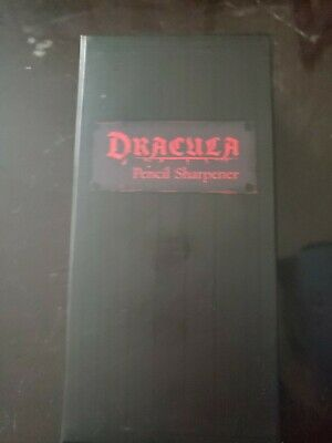 Loot Crate Exclusive Dracula Pencil Sharpener brand new never used