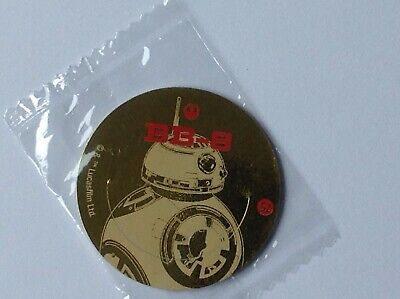 Star Wars The Force Awakens fruitickles pog no 52 BB-8 - very rare