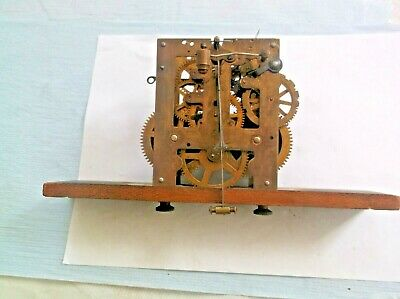 PHS GERMAN MOVEMENT  FROM A VERY OLD WALL  CLOCK working order REF 674