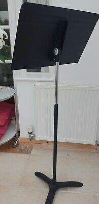 Music stand Reading Stand Heavy Duty Metal On Tripod Make Manhasset