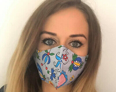 Face Mask 100%cotton  reusable  washable & Free Post