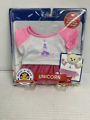 2019 National Teddy Bear Day BUILD A BEAR Game On Outfit NEW