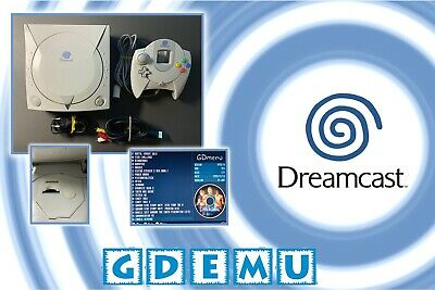 Sega Dreamcast Gdemu Mod - Play games directly from micro-sd card! New battery